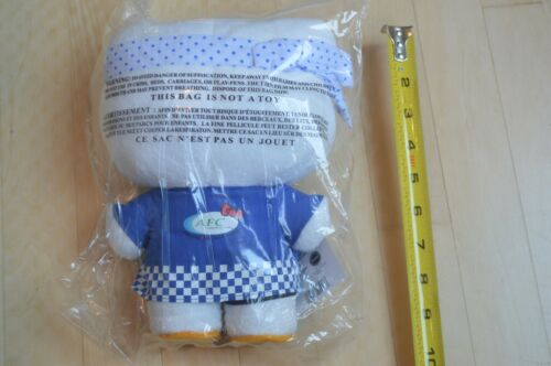 "New 10/"" Hello Kitty Plush Stuffed Animal Toy Sushi Chef Doll AFC 30thAnniversary"