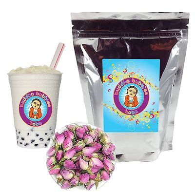 Rose Boba / Bubble Tea Powder by Buddha Bubbles Boba (1 Kilo | 2.2 Pounds)