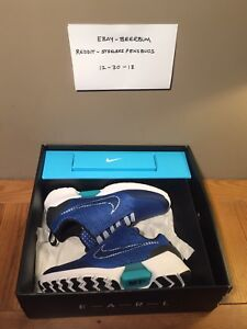 Nike-Hyperadapt-1-0-Sport-Royal-Auto-Lacing-Size-12-DS-Tinker-Blue