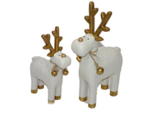 Reindeer with Bell handmade Christmas Christmas Decoration winterdeko Advent