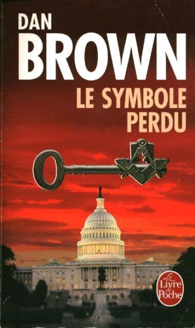 Livre poche le symbole perdu Dan Brown book