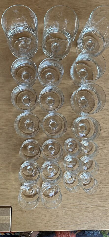 Glas, Ølglas, vandglas