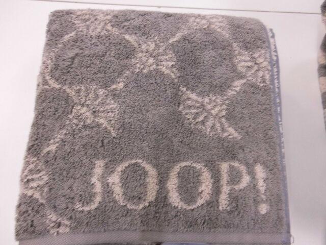 Joop  XXL Saunatuch Strandtuch 80 x 200 cm Classic Cornflower 1611 FB 70 graphit