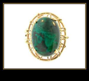 14K-Yellow-Gold-Turquoise-Fashion-Dinner-Ring