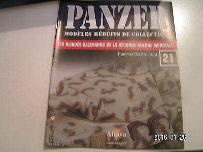 *** Panzer Modèles Réduits De Collection N°21 21 Pz Div / Hummel / Kharkov