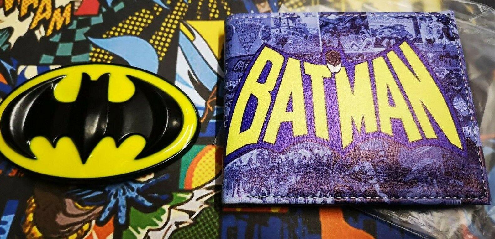 Batman belt buckle & batman super hero Wallet Comic book heroes THE BATMAN
