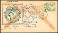 1950 Philippines Commemorating BAGUIO CONFERENCE First Day Cover - C