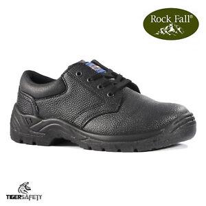 Rock Fall Pro Man Orlando Tc35c S3 Honey Nubuck Steel Toe Cap Work Safety Boots Business & Industrial