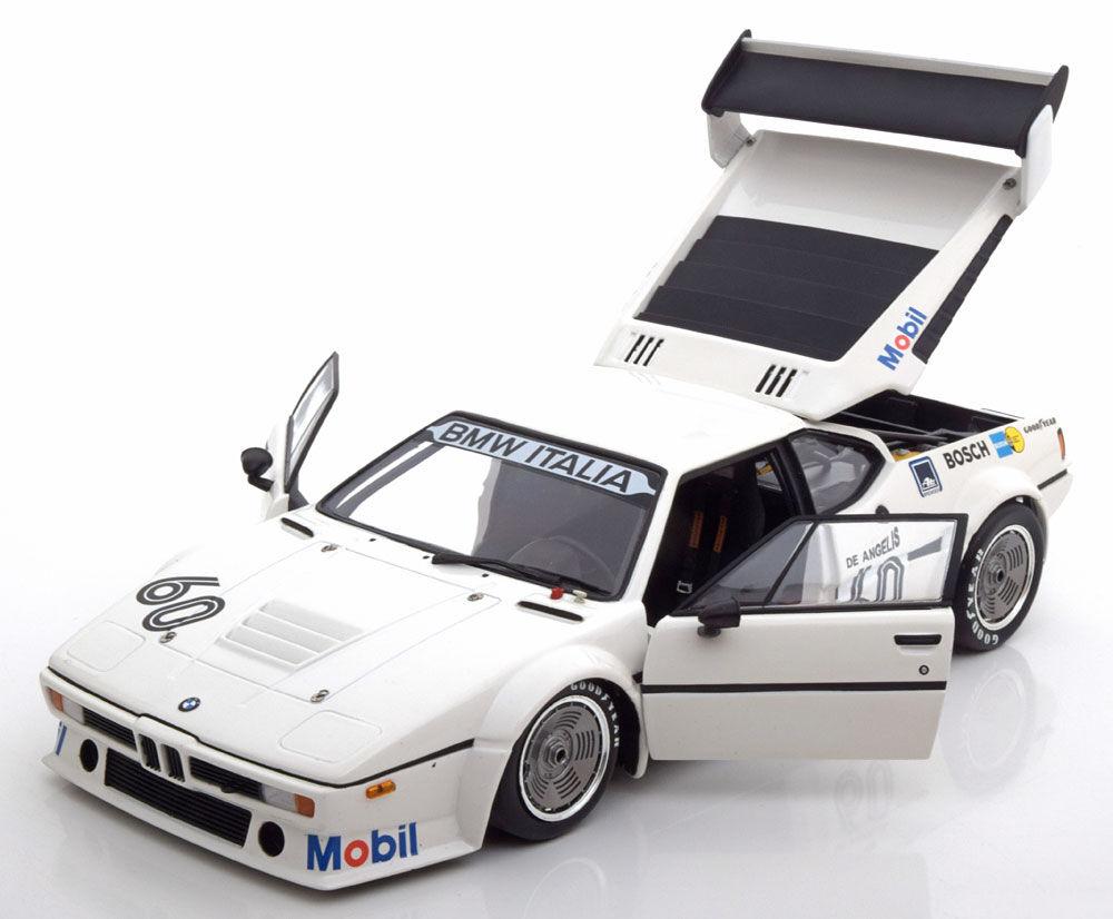 Minichamps BMW M1 E26 Procar Gagnant Zolder de Angelis 1979  60 1 18 le de 402