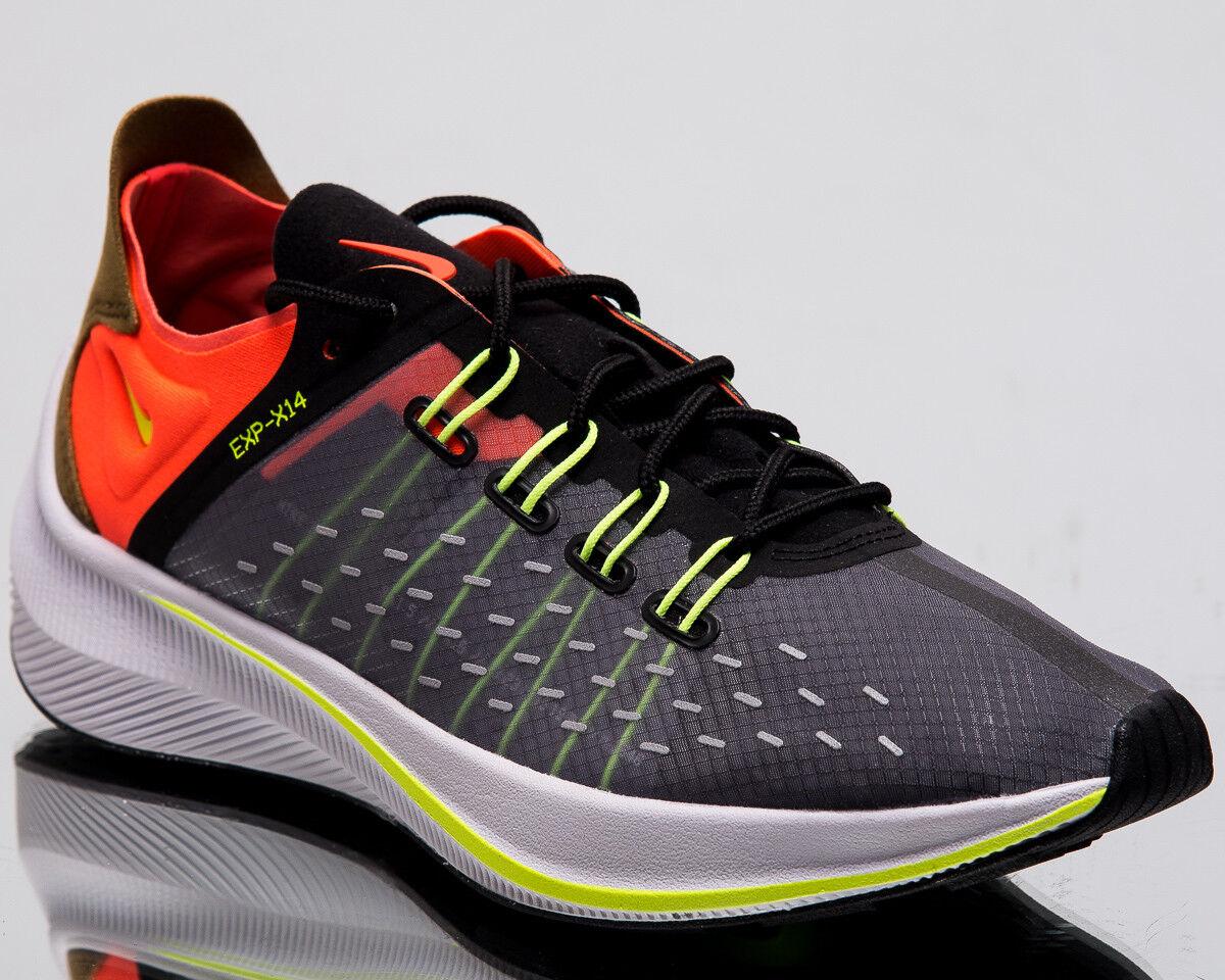 Nike femmes  EXP-X14 Crimson femmes New Noir Volt Crimson EXP-X14 Lifestyle Baskets AO3170-002 c6c77c
