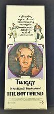 Original 1971 THE BOYFRIEND Movie Poster 14 x 36 TWIGGY / KEN RUSSELL