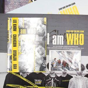 STRAY-KIDS-2nd-Mini-Album-I-Am-WHO-Stray-Kids-Album-I-am-Ver-Preorder-Gifts
