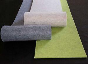 Filz-kult Filz Tischläufer Tischband Schlicht + Edel, 40cm X 1,5m, Farbe Wählbar