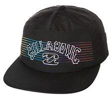 "NEW TAG BILLABONG MENS TEENS BOYS /""WISEMAN/"" CURVED PEAK CAP HAT WHITE SNAPBACK"