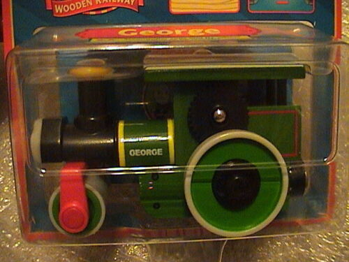 Thomas And Friends Wooden Railway Retired the steamroller NIP 2006 George