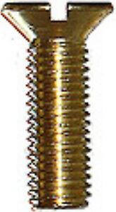 25-Senkschrauben-Messing-M-2-0