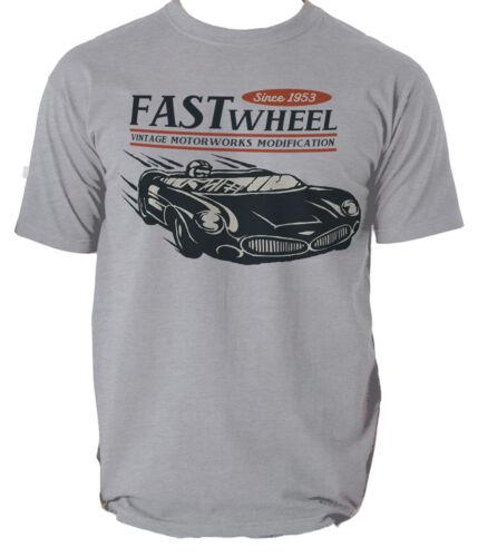 AMERICAN MUSCLE T shirt VINTAGE CAR FAST SPORT mens t-shirt tee S-3XL
