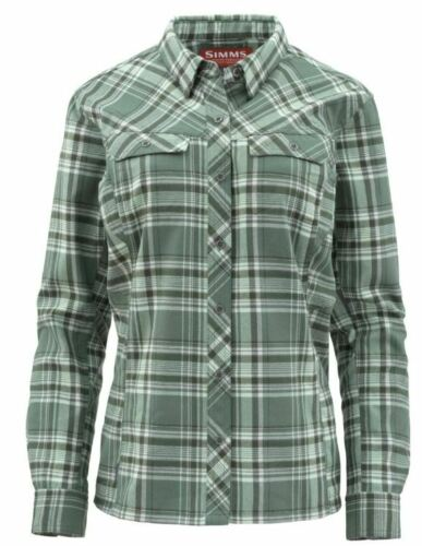 Simms Fly Fishing Products Women/'s Primaloft Blend Flannel