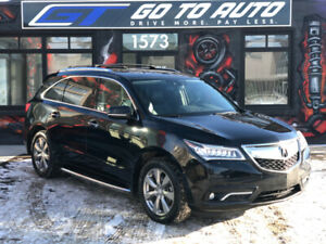 2016 Acura MDX Elite SH-AWD SUV - Nav, camera, DVD, remote start