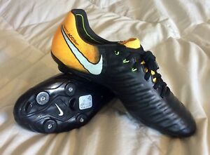 low priced f72d3 adca1 Details about New $200 Size 6 Nike Tiempo Legend Elite VII 7 SG Flyknit ACC  921452-009 Leather