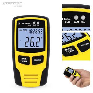 TROTEC Klima Datenlogger BL30 | Hygrometer | Klimamessgerät Temperaturmessgerät