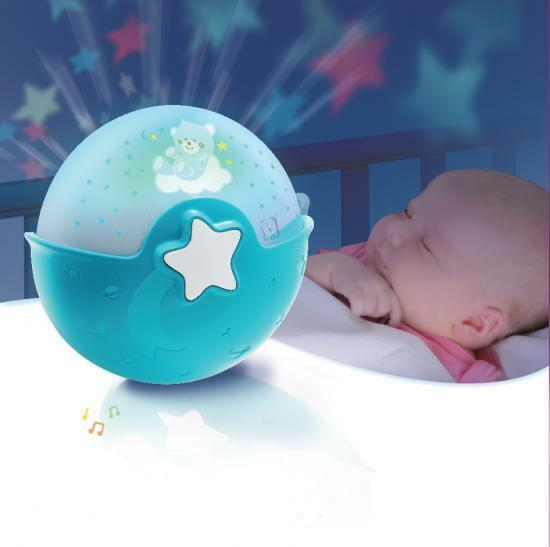 NWB Baby Crib Soothing Night Light Projector with Music / Table Top Night Lamp