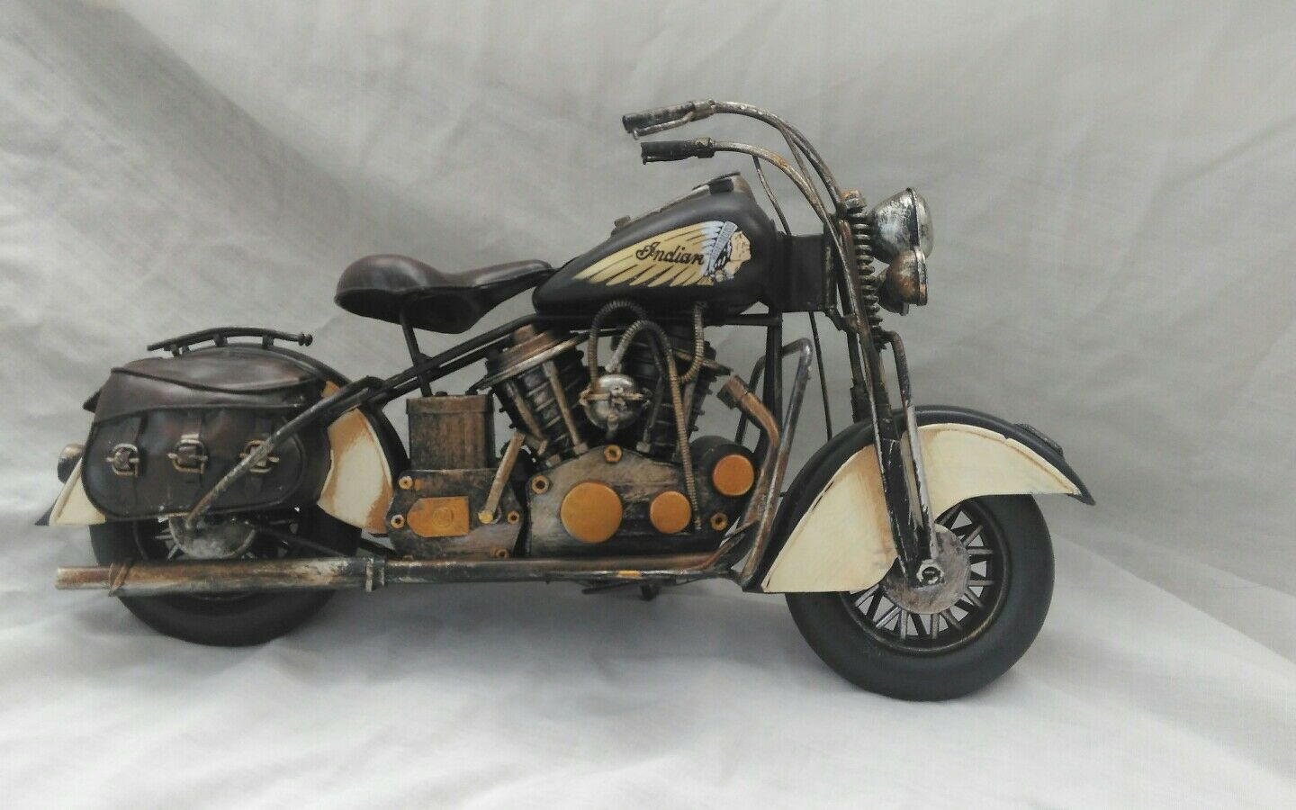 Tinplate Motorcycle. American Classic Indian style motorbike.  New.