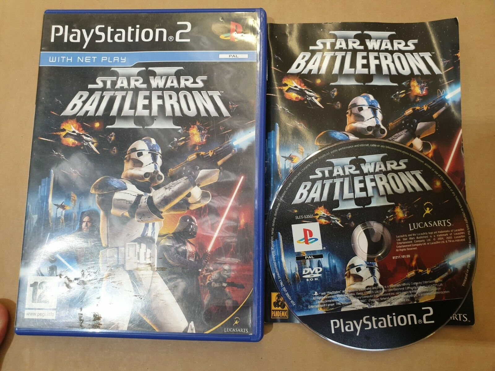 STAR WARS BATTLEFRONT 2 PS2 PLAYSTATION 2 - Avis StarWars