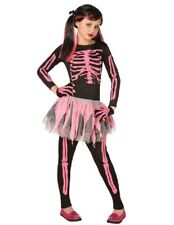 Skeleton Punk Pink Child 12-14 Costume Item Morris Costumes 3146PKL