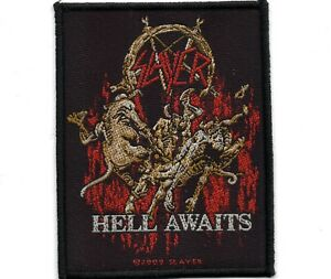 Slayer-Hell-Awaits-Woven-Patch
