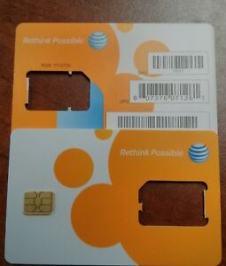 Details about AT&T PREPAID GO PHONE 3G/4G NANO SIM CARD READY ACTIVATE, SKU  73057/40952