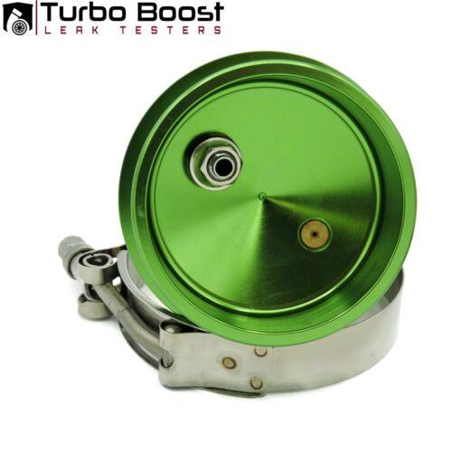 """3.75/"""" TURBO BOOST LEAK TESTER-  6061 Alum PREMIUM Tire Valve 30psi Gauge"""