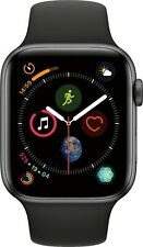 Apple Watch Series 4 GPS + Cellular 44mm or 40mm Black or Pink Strap