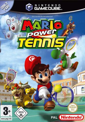 1 von 1 - Mario Power Tennis (Nintendo GameCube, 2005, DVD-Box)