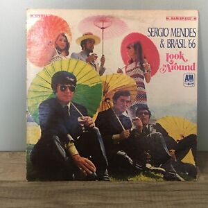 SERGIO MENDES & BRASIL '66 Look Around LP 1968 - A&M SP 4137