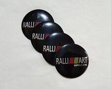 NEW 56mm RALLI ART ralliart Wheel Center Hub Cap hubcap Emblem Sticker Badge