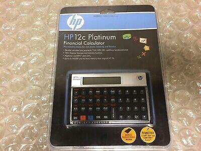 HEWLETT PACKARD HP 12C BUSINESS FINANCIAL CALCULATOR   eBay