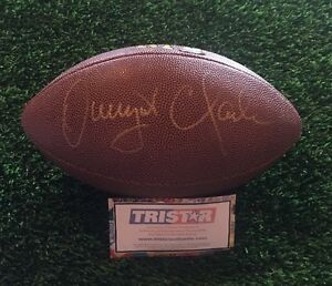 e461f6914 Image is loading DWIGHT-CLARK-SAN-FRANCISCO-49ers-SIGNED-FOOTBALL-TRISTAR-