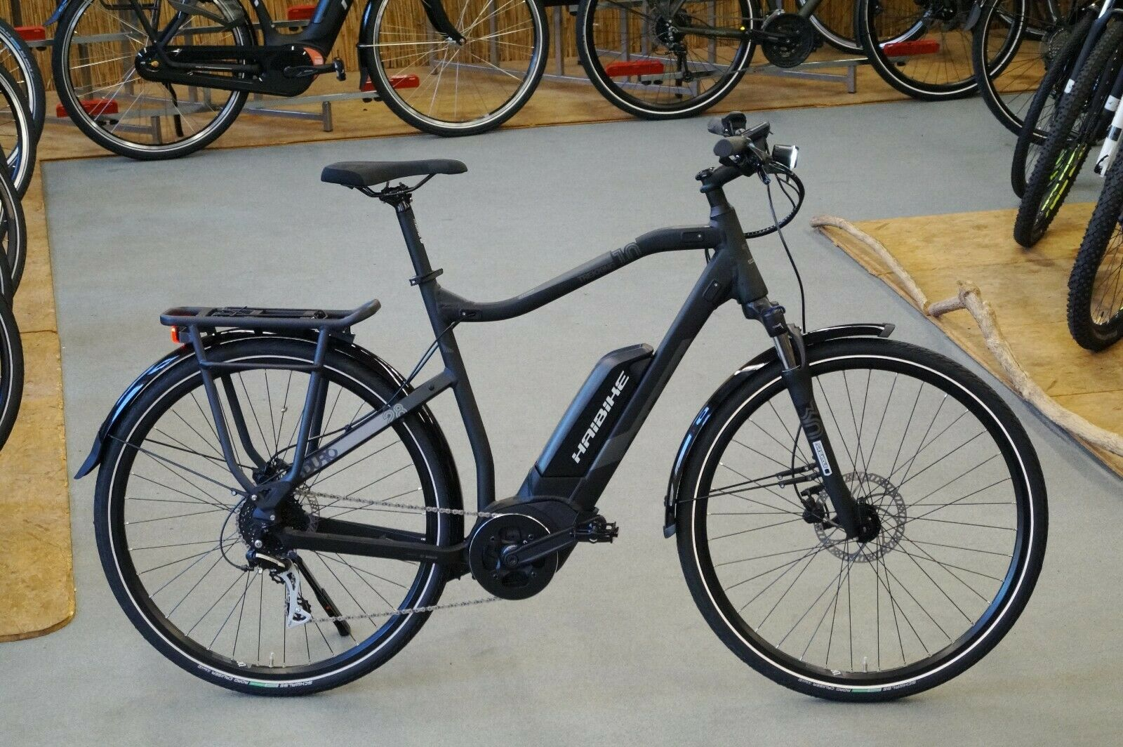 HAIBIKE SDURO TREKKING 1.0 28     RH52cm E-bike 400Wh BOSCH Mod. 2019 a57112