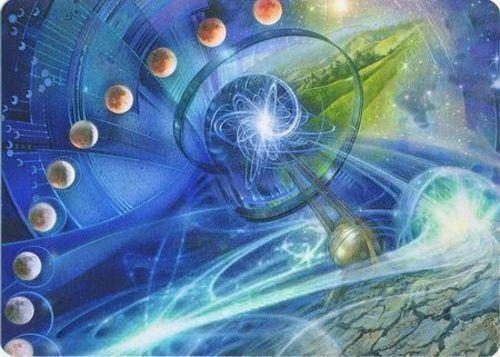 1x Echo of Eons Modern Horizons MTG Ma Art Series NM-Mint English Art Series