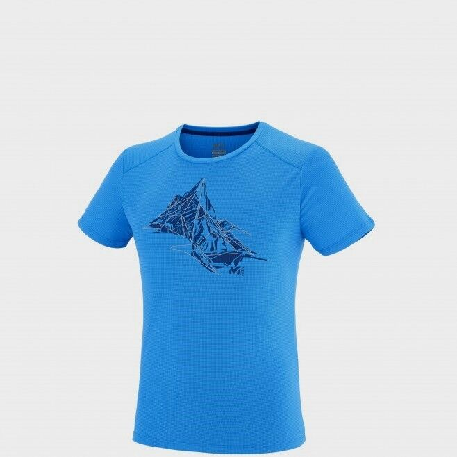 Millet Needles T-Shirt Short Sleeve Men, Ultraleichtes Funktionsshirt  Gr. S
