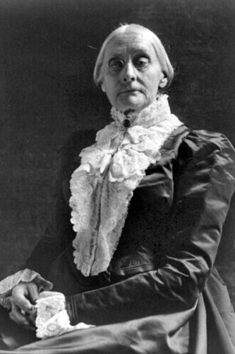 Anthony Women/'s Suffrage Champion Susan B New 5x7 Photo