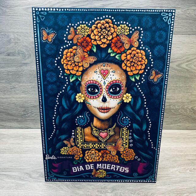 BARBIE Dia De Los Muertos - Day of The Dead Mexican Doll  IN HAND Free Ship