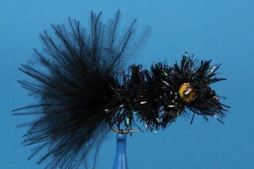 Fliegentom 3 Stück Mörder Streamer schwarz