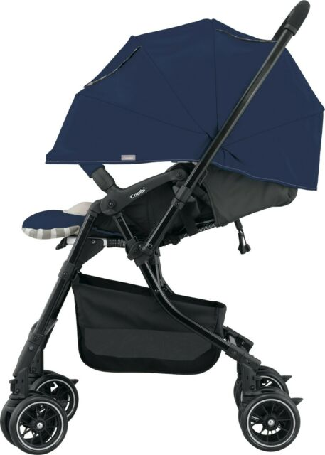 Combi Mechacal 4AC Luxury Stroller, Navy / ITEM CLOSEOUT / Was $530