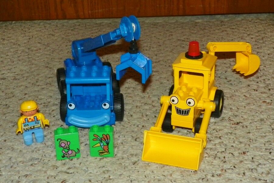 LEGO - Duplo Bob the Builder - Scoop, Lofty & Bob - Complete Assembly
