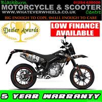 AJS JSM 50cc Motorbike 2 Stroke Supermoto Motorcross Motorcycle Learner Legal