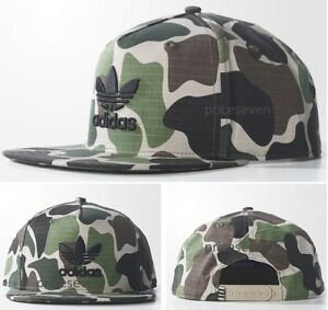 9042582b25490 Image is loading adidas-Originals-Camouflage-Multicolor-Unisex-Snapback-Cap- NEW
