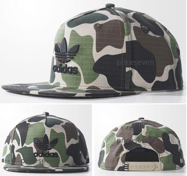 Adidas Originals Trefoil Cappello Berretto Hat BEANIE CAMO Unisex camouflage