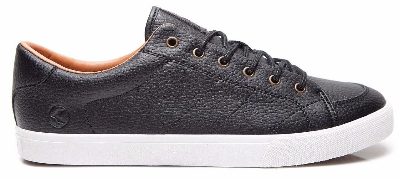 Men's Kustom Kramer Supreme Black Leather Shoes, NIB, Size 7 - 14. NIB, Shoes, RRP $89.99. 431367